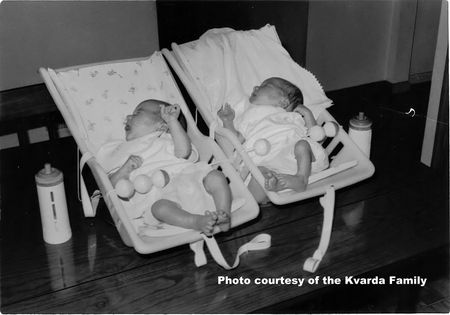 Baby Equipment For Twins Then And Now A Photo Journey